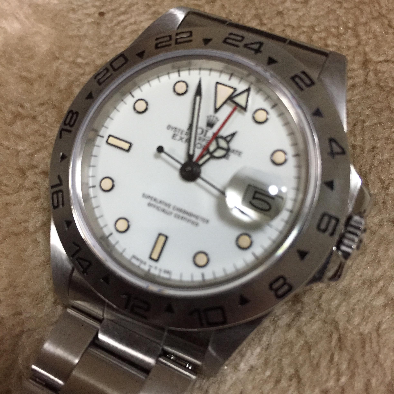 buy online 42750 cf5bd Ref.16550 ROLEX エクスプローラーII | TOKYO GENTS OFFICIAL SITE